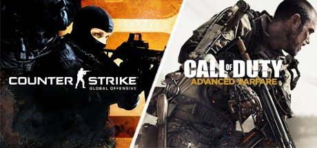 Counter-Strike: GO + Call of Duty: AW + подарок + бонус